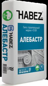 Гипс строительный Habez Алебастр 25 кг