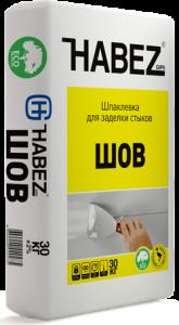 Шпаклевка гипсовая Habez Шов 30 кг
